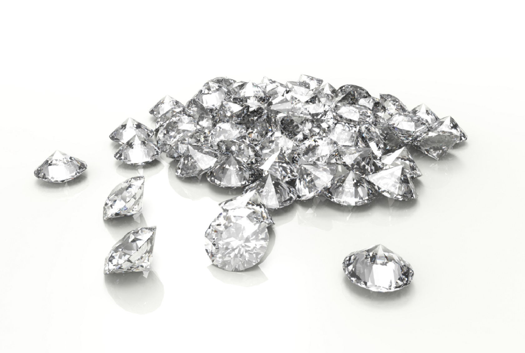 big round diamonds dubai jewellery loose loosediamonds